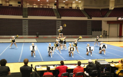 Cheerleaders Earn a Spot at State