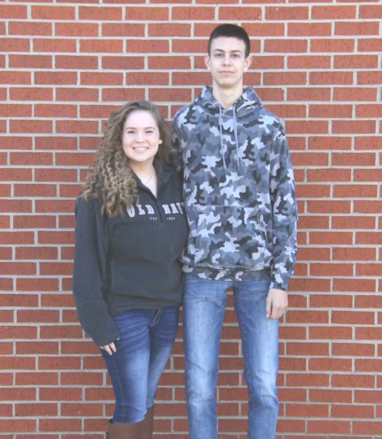 October Students: Montana & Joey