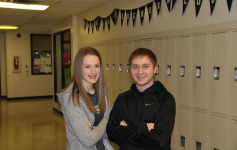 January Students: Brock & Halley