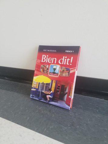 Le cours de français