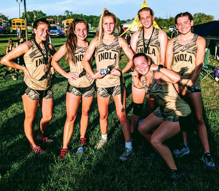IHS Lady Horns Cross Country