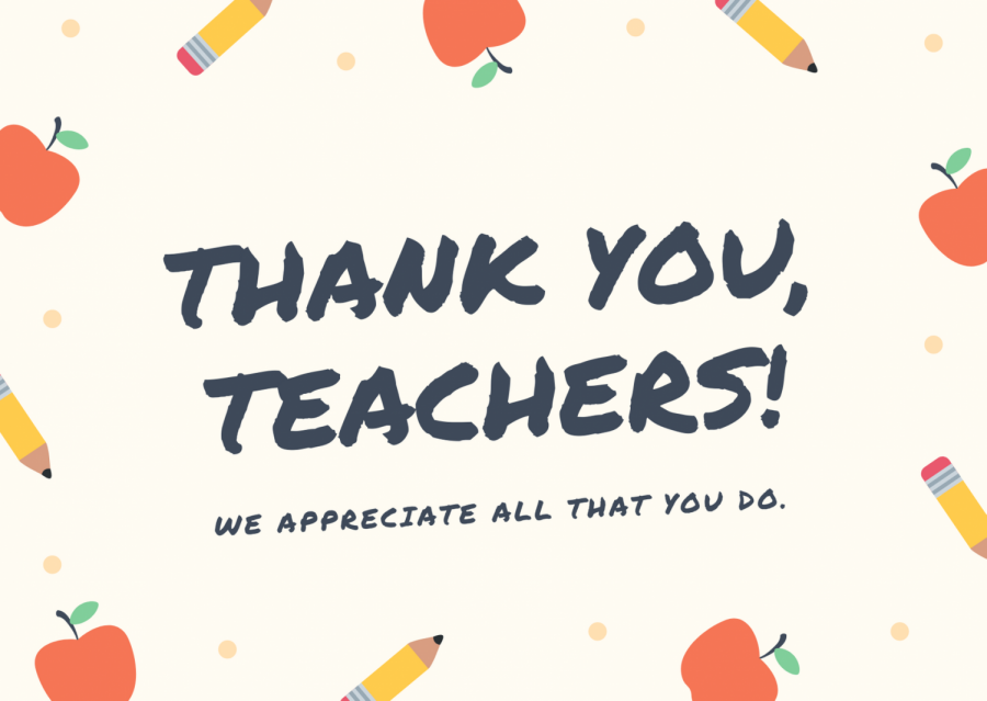 Thankful For Teachers