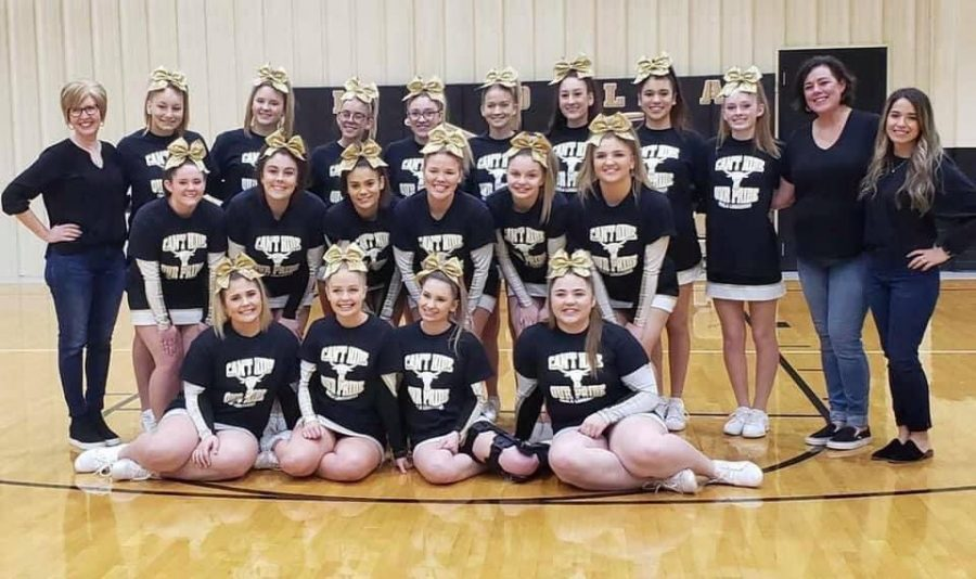Inola Cheer 5th at State