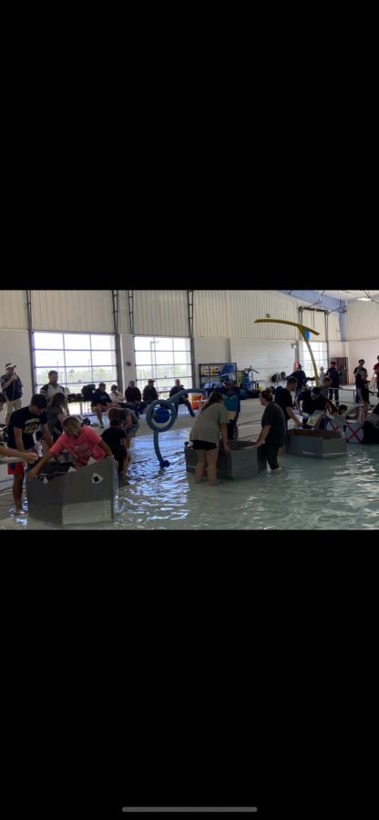 Inola+STEM+Cardboard+Boat+Regatta