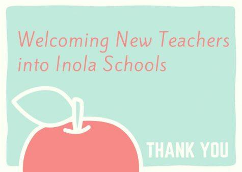 Welcoming New Teachers to Inola High School
